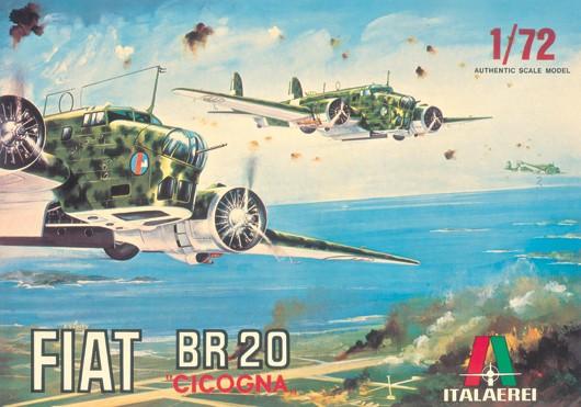 Italeri ITA103 Fiat Br-20 Cicogna 1:72