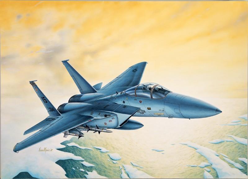 Italeri ITA169 F-15c Eagle 1:72