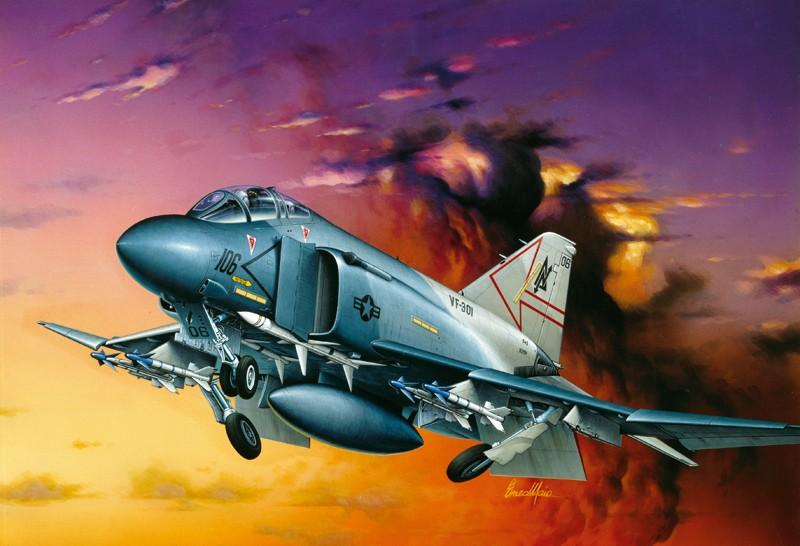 Italeri ITA170 F-4s Phantom Ii 1:72