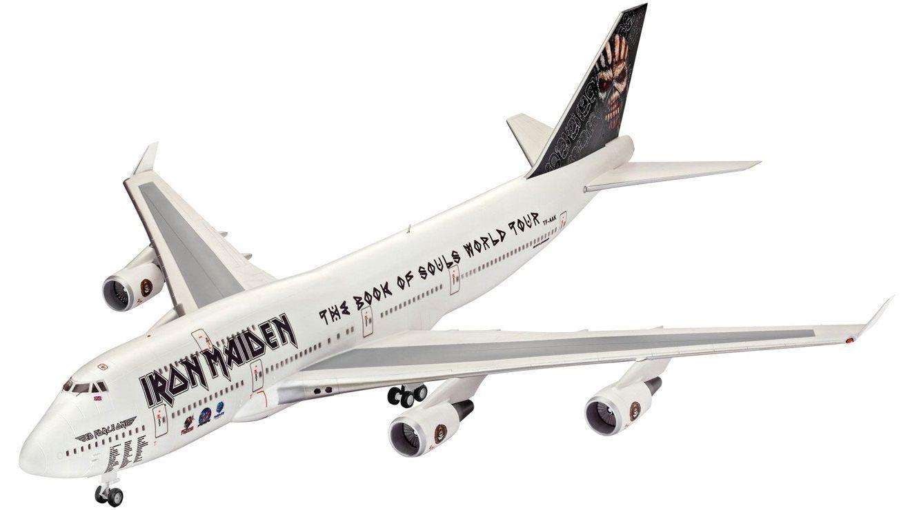 Revell 04950 Boeing 747-400 Iron Maiden  1:144