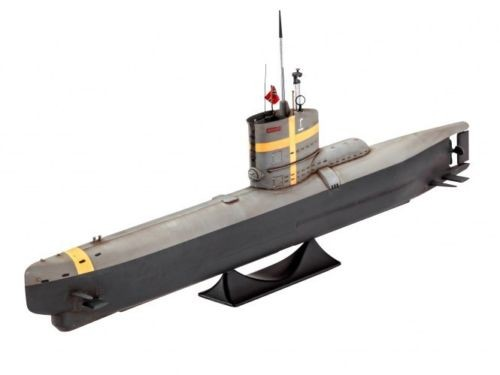 Revell 05140 German Submarine TYPE XXIII  1:144