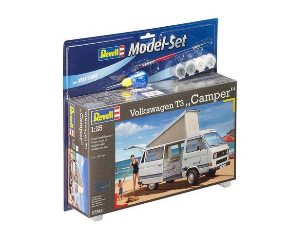 "Revell 67344 Volkswagen T3 Camper  1:25  "" Model-Set """
