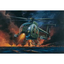 Italeri ITA017 Ah-6 Night Fox 1:72