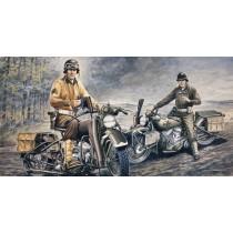 Italeri ITA322 U.S. Motorcycles 1:35