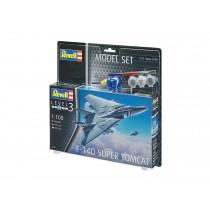 "Revell 63950 F-14D Super Tomcat  1:100 "" Model-Set """