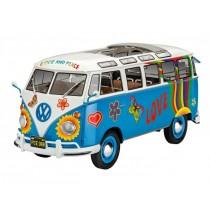 Revell 07050 VW T1 Samba Bus Flower Power  1:24