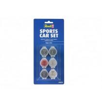 Revell 39074 Conjunto de 6 tintas acrílicas de carros esportivos
