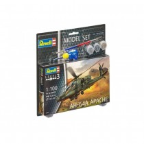 Revell 64985 AH-64A Apache 1:100 Model-Set