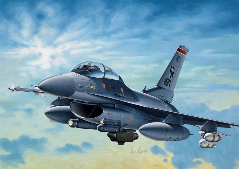 Italeri 188 F-16 C/d Night Falcon 1:72