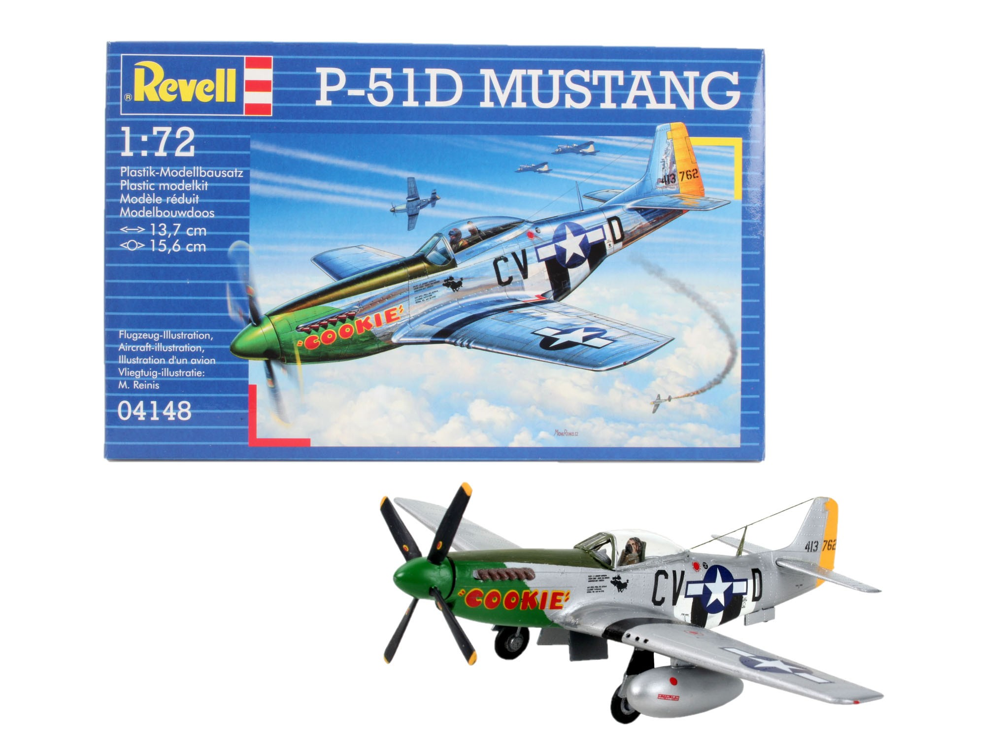 Revell 04148 P-51D Mustang 1:72