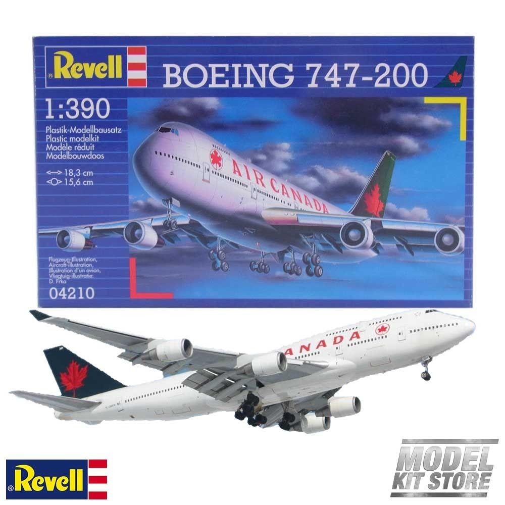 Revell 04210 BOEING 747-200 Air Canada 1:390