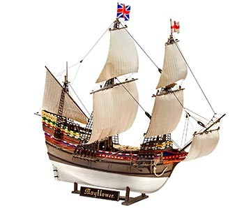 Revell 05486 Pilgrim Ship MAYFLOWER 1:83