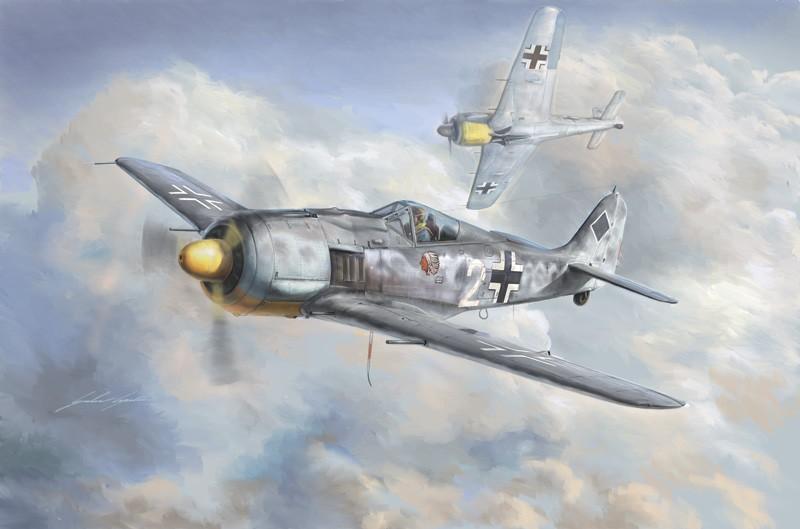 Italeri 2751 Fw 190 A-8  1:48
