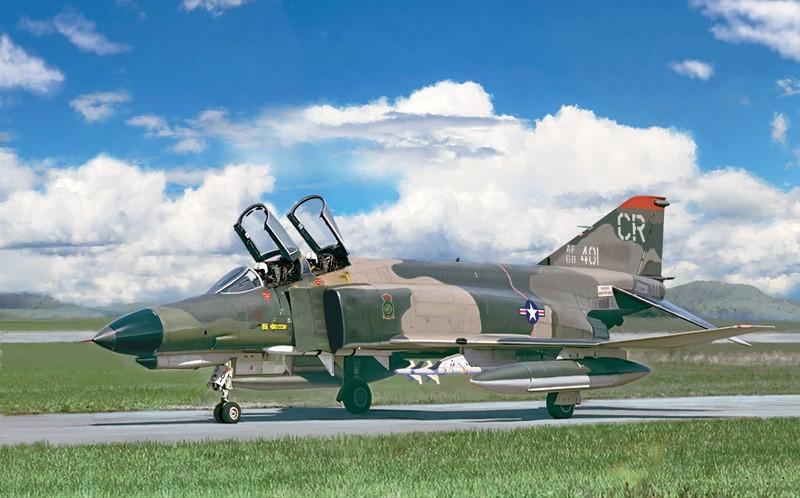 Italeri ITA2770 F-4E Phantom II 1:48