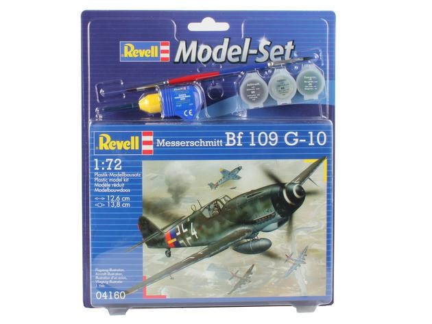 "Revell 64160 Bf 109 G-10 Messerschmitt 1:72  "" Model-Set """