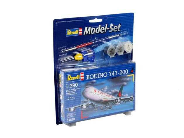 "Revell 64210 BOEING 747-200 Air Canada 1:390  "" Model-Set """