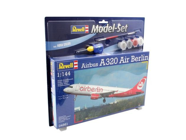 """Revell 64861 Airbus A320 AirBerlin  1:144  """" Model-Set """""""