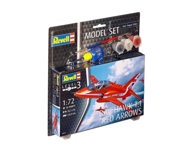 "Revell 64921 BAe HAWK T.1 RED ARROWS 1:72  "" Model-Set """