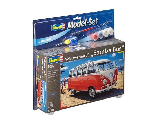 """Revell 67399 Volkswagen T1 Samba Bus 1:24  """" Model-Set """""""