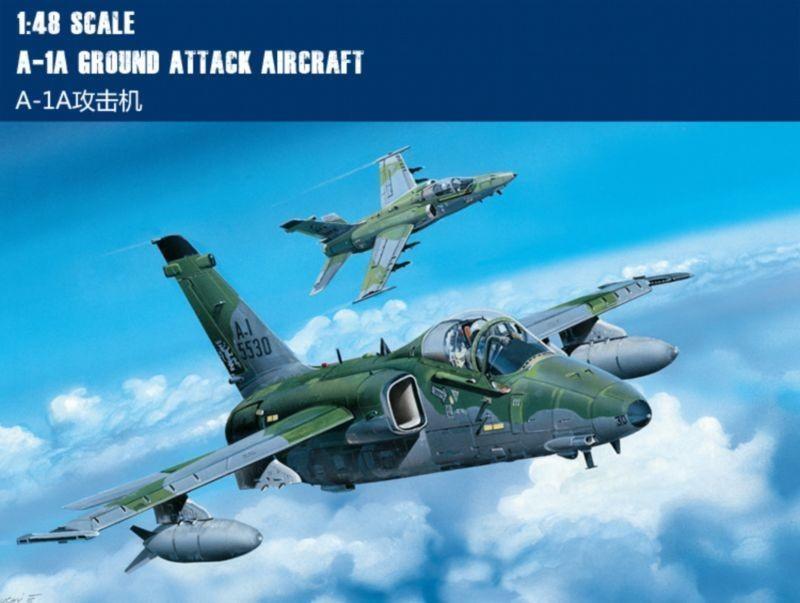 Hobby Boss 81742 A-1A Ground Attack Aircraft 1:48