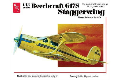 Amt 886 Beechcraft G17S Staggerwing 1:48