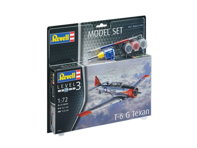 "Revell 63924 T-6 G Texan 1:72  "" Model-Set """