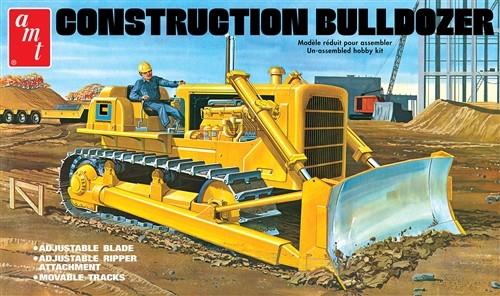 AMT 1086 CONSTRUCTION BULLDOZER 1:25