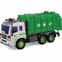 Shinytoys 166 Caminhão de lixo a Fricção Continua com Som e Luz 1:16