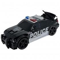 Shinytoys 638 Carro Polícia a Fricção contínua com Som e Luz 1:20