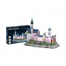Revell 00151 Castelo de Neuschwanstein Quebra-Cabeça 3D LED