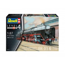 Revell 02172 Express locomotive BR01 with tender 2'2' T32  1:87