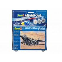 Revell 63972 F-15E STRIKE EAGLE & bombs  1:144  Model Set
