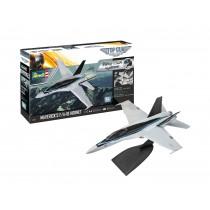 Revell 04965 F/A-18 Hornet  Maverick's Top Gun 1:72  Easy-Click