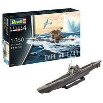 Revell 05154 German Submarine Type VII C/41  1:350