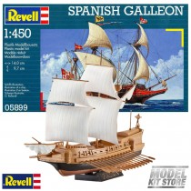 Revell 05899 SPANISH GALLEON 1:450