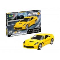Revell 07449 Corvette Stingray  2014  1:25