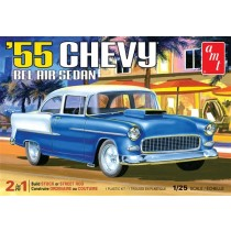 AMT 1119M CHEVY BEL AIR SEDAN 1955  1:25