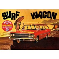 AMT 1131 CHEVELLE SURF WAGON 1965  1:25