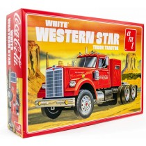 AMT 1160 WHITE WESTERN STAR SEMI TRACTOR (COCA COLA) 1:25