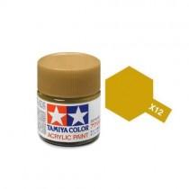 Tamiya 81512 Folha de ouro  X-12  - Brilhante -