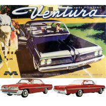 Moebius 1211 Pontiac Ventura 1961  1:25