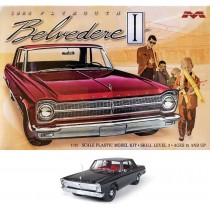 Moebius 1218 Plymouth Belvedere I 1965  1:25