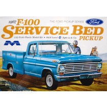Moebius 1239 Ford F-100 Service Bed 1967  1:25