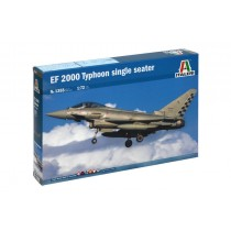 Italeri 1355 EF 2000 TYPHOON single seater  1:72