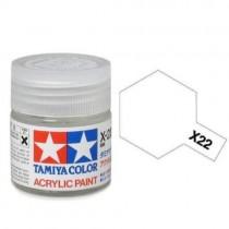 Tamiya 81522 Transparente  X-22 - Brilhante -