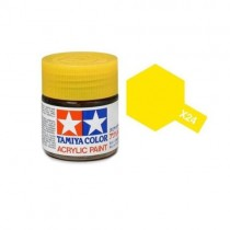 Tamiya 81524 Amarelo transparente  X-24  - Brilhante -