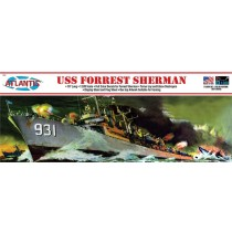 Atlantis H352 USS Forrest Sherman Destroyer   1:320