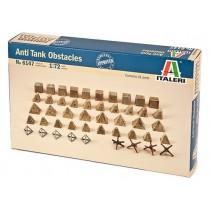 Italeri 6147 Anti Tank Obstacles ( 61 ) 1:72