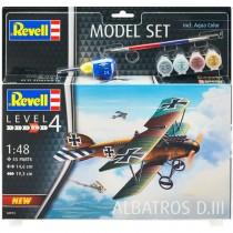 Revell 64973 Albatros DIII  1:48  Model Set
