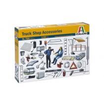 Italeri 764 Truck Shop Accessories  1:24